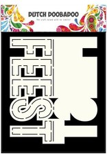 Dutch Doobadoo Card Art Dutch Doobadoo Dutch Card Art text Feest (NL) A5