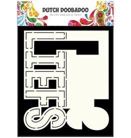 Dutch Doobadoo Card Art Dutch Doobadoo Dutch Card Art text Liefs (NL) A5