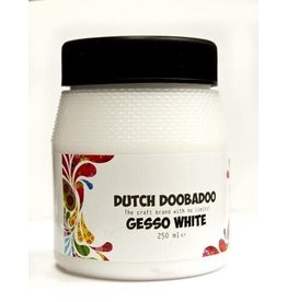 Dutch Doobadoo Gesso Dutch Doobadoo Dutch Gesso wit 250ML