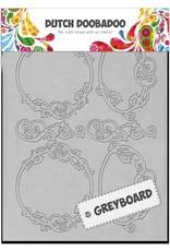 Dutch Doobadoo Mask Art Dutch Doobadoo Dutch Greyboard Frames Rond A5