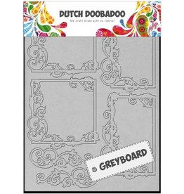 Dutch Doobadoo Mask Art Dutch Doobadoo Dutch Greyboard Frames vierkant A5