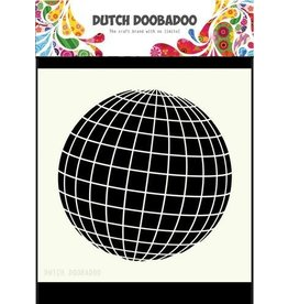 Dutch Doobadoo Mask Art Dutch Doobadoo Dutch Mask Art 15x15cm aardbol