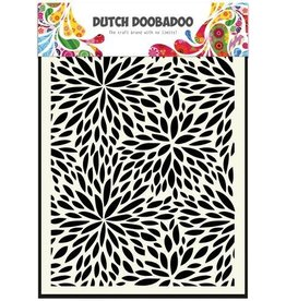 Dutch Doobadoo Mask Art Dutch Doobadoo Dutch Mask Art A5 Floral Waves