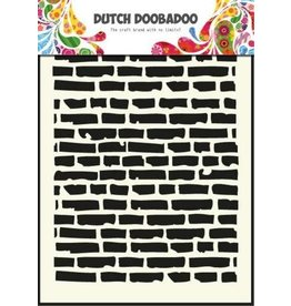 Dutch Doobadoo Mask Art Dutch Doobadoo Dutch Mask Art stencil bricks - A5