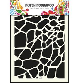 Dutch Doobadoo Mask Art Dutch Doobadoo Dutch Mask Art stencil giraffe - A5