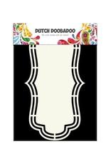 Dutch Doobadoo Shape Art Dutch Doobadoo Dutch Shape Art frames etiket A5