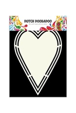 Dutch Doobadoo Shape Art Dutch Doobadoo Dutch Shape Art label hart A5