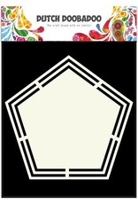 Dutch Doobadoo Shape Art Dutch Doobadoo Dutch Shape Art Pentagon A5