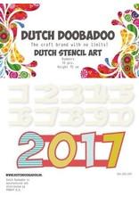 Dutch Doobadoo Stencil Dutch Doobadoo Dutch Stencil Art nummers 2 (0-9)