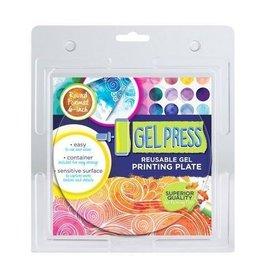 Gel Press Gel Press Printing Plate - cirkel