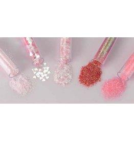 Schutmaterialen Glitterset assorti Blossom 1.8 GR 5 ST