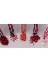 Schudmaterialen Glitterset assorti Valentine 1.8 GR 5 ST