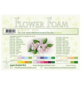 LeCrea -Foam LeCrea - 10 Flower Foam sheets A4 wit
