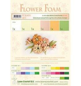 LeCrea -Foam LeCrea - Flower Foam assort. 3. 6 vel A4 zalm