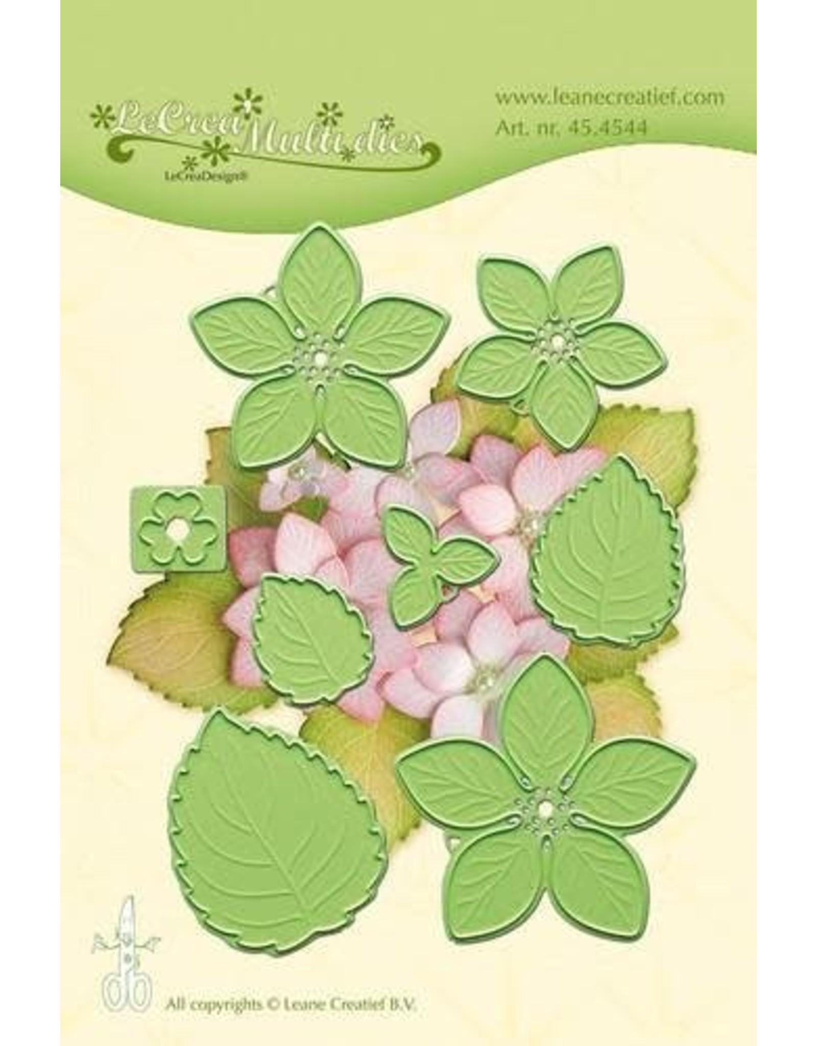 LeCrea - LeCrea - Lea'bilitie flower011 Hydrangea snij. embossing mal