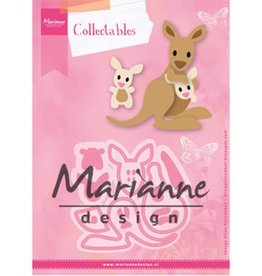 Marianne Design Marianne D Collectable Eline's kangaroo & baby
