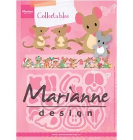 Marianne Design Marianne D Collectable Eline's muizenfamilie