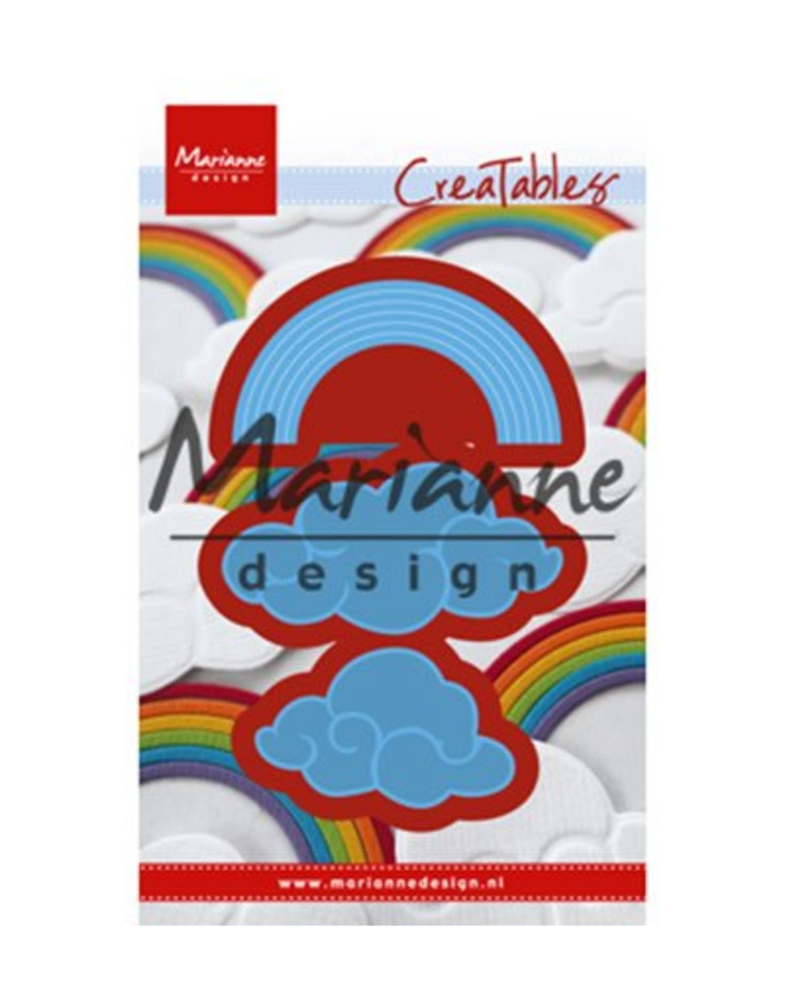 Marianne Design Marianne D Creatable Regenboog en wolken