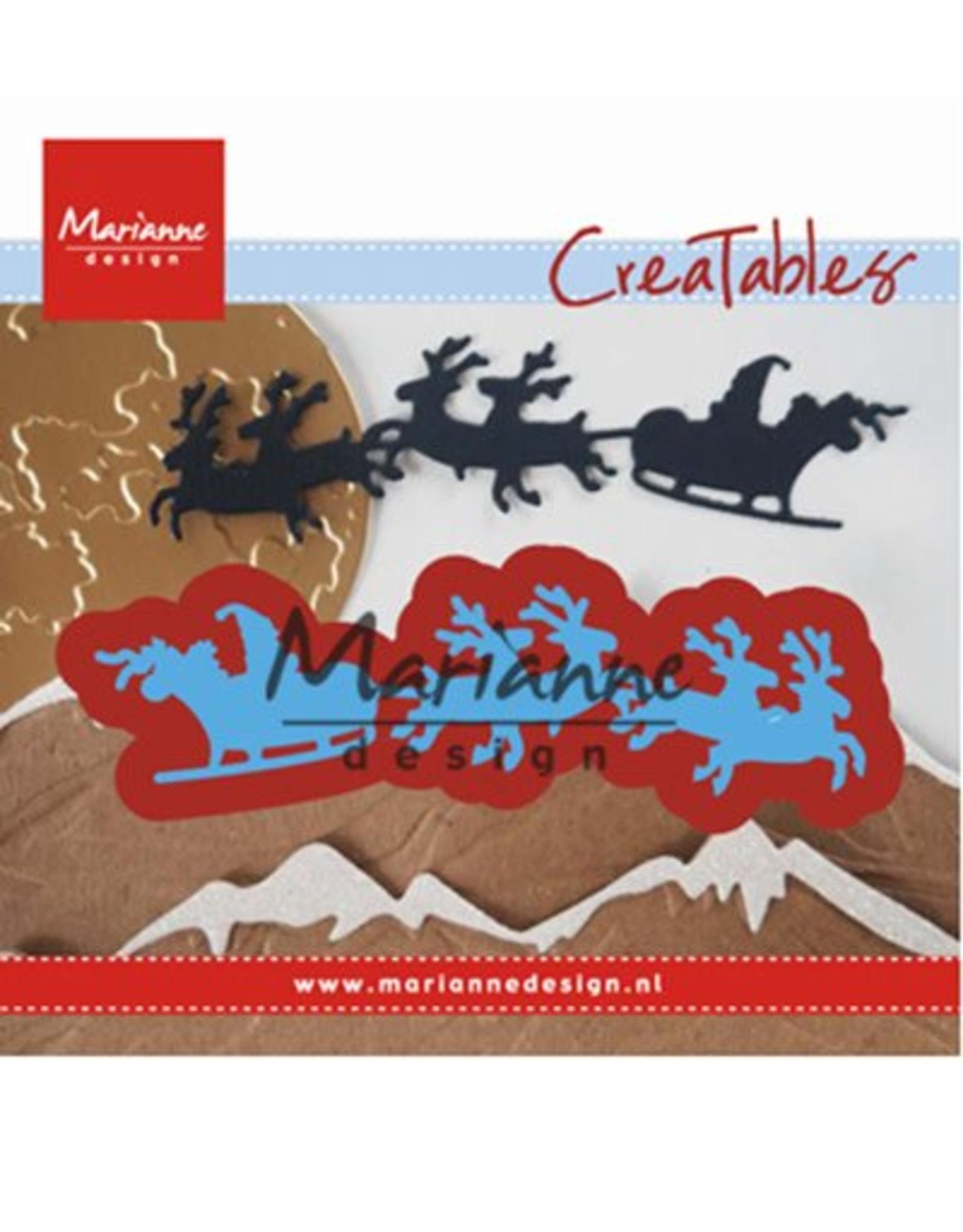 Marianne Design Marianne D Creatable Santa is coming