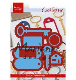 Marianne Design Marianne D Creatable Sleutelhanger
