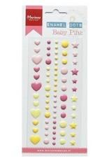 Marianne Design Marianne D Decoration Enamel dots - Baby pink