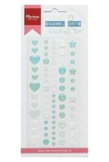 Marianne Design Marianne D Decoration Enamel dots - Cold as ice