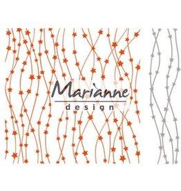 Marianne Design Marianne D Embossing folder Hemelse sterren