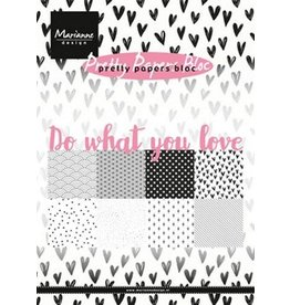 Marianne Design Marianne D Paper pad Do what you love