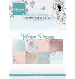 Marianne Design Marianne D Paper pad Winter dream