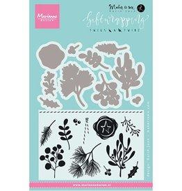 Marianne Design Marianne D Stempel Giftwrapping Takjes & Besjes KJ1715