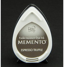 Memento Dew Drop Memento Dew Drop inktkussen Espresso Truffle