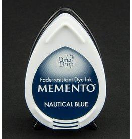 Memento Dew Drop Memento Dew Drop inktkussen Nautical Blue