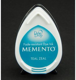 Memento Dew Drop Memento Dew Drop inktkussen Teal Zeal