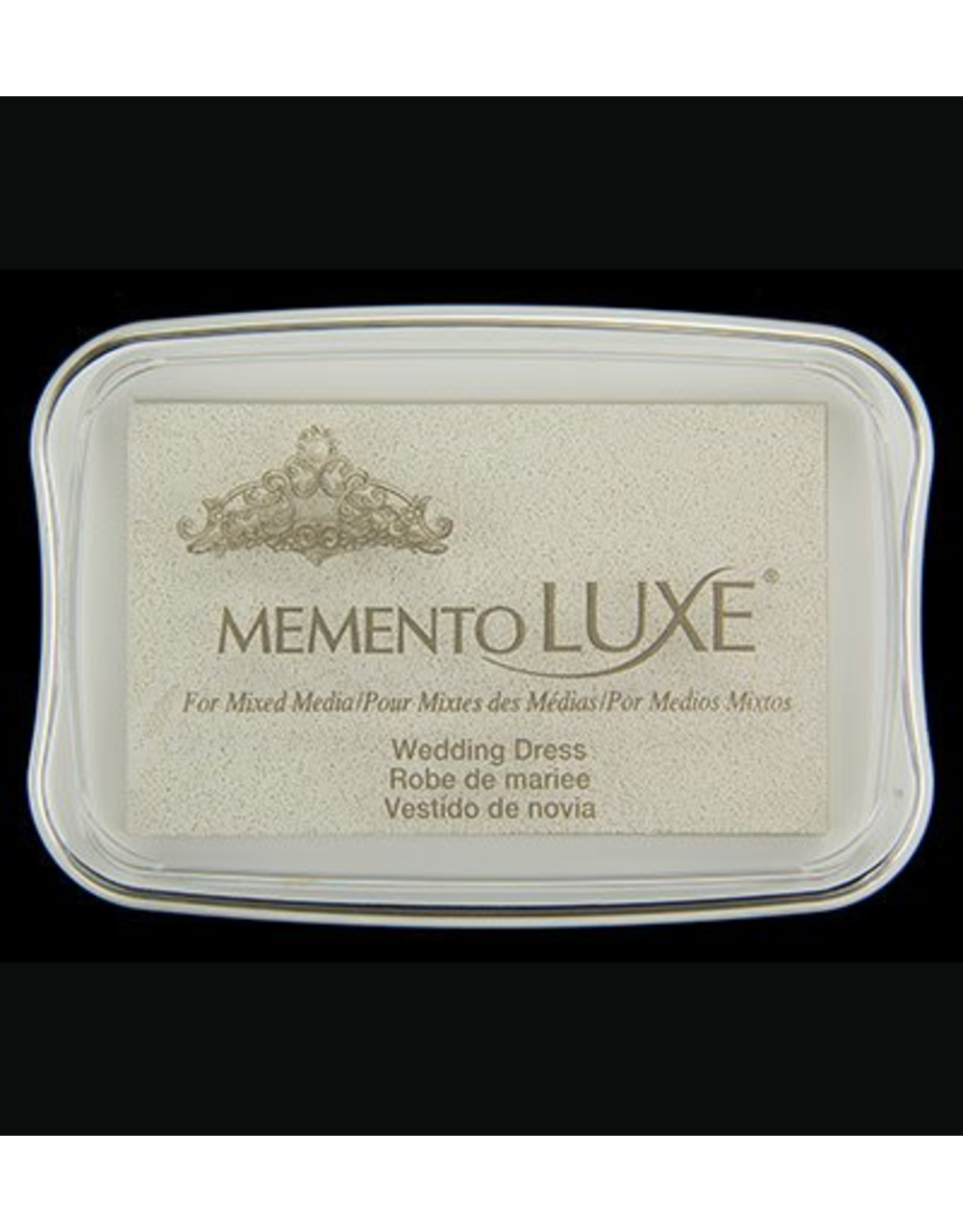 Memento inktkussen luxe Memento inktkussen De Luxe Wedding Dress