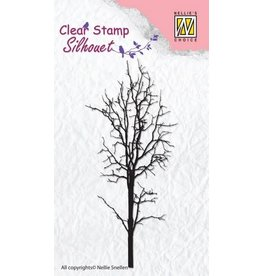 Nellie's Choice Nellie's Choice Clearstamp - Silhouette boom-1