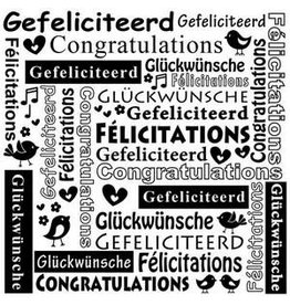 Nellie's Choice Nellie's Choice Emb.folder Multi Language tekst Gefeliciteerd