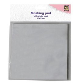 Nellie's Choice Nellie's Choice Masking Paper Pad sticky back 15x15cm 30VL