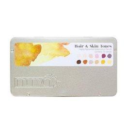 Nuvo potloden Nuvo watercolour potloden - hair & skin tones