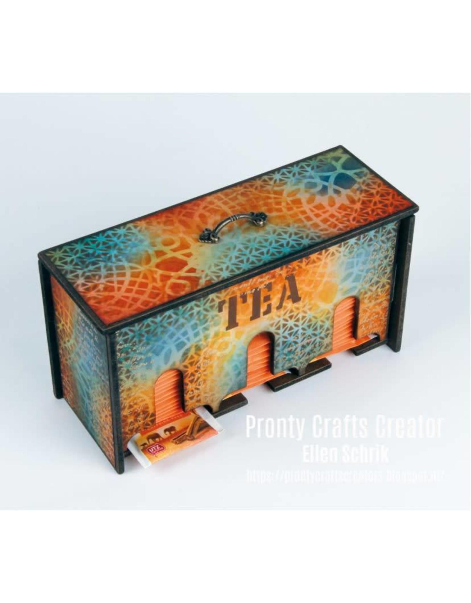 Pronty MDF Pronty MDF 3D Teabox