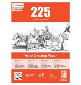 Schut Artist Schut Artist Drawing Paper  225 gram  A4 bloc a 30 vel