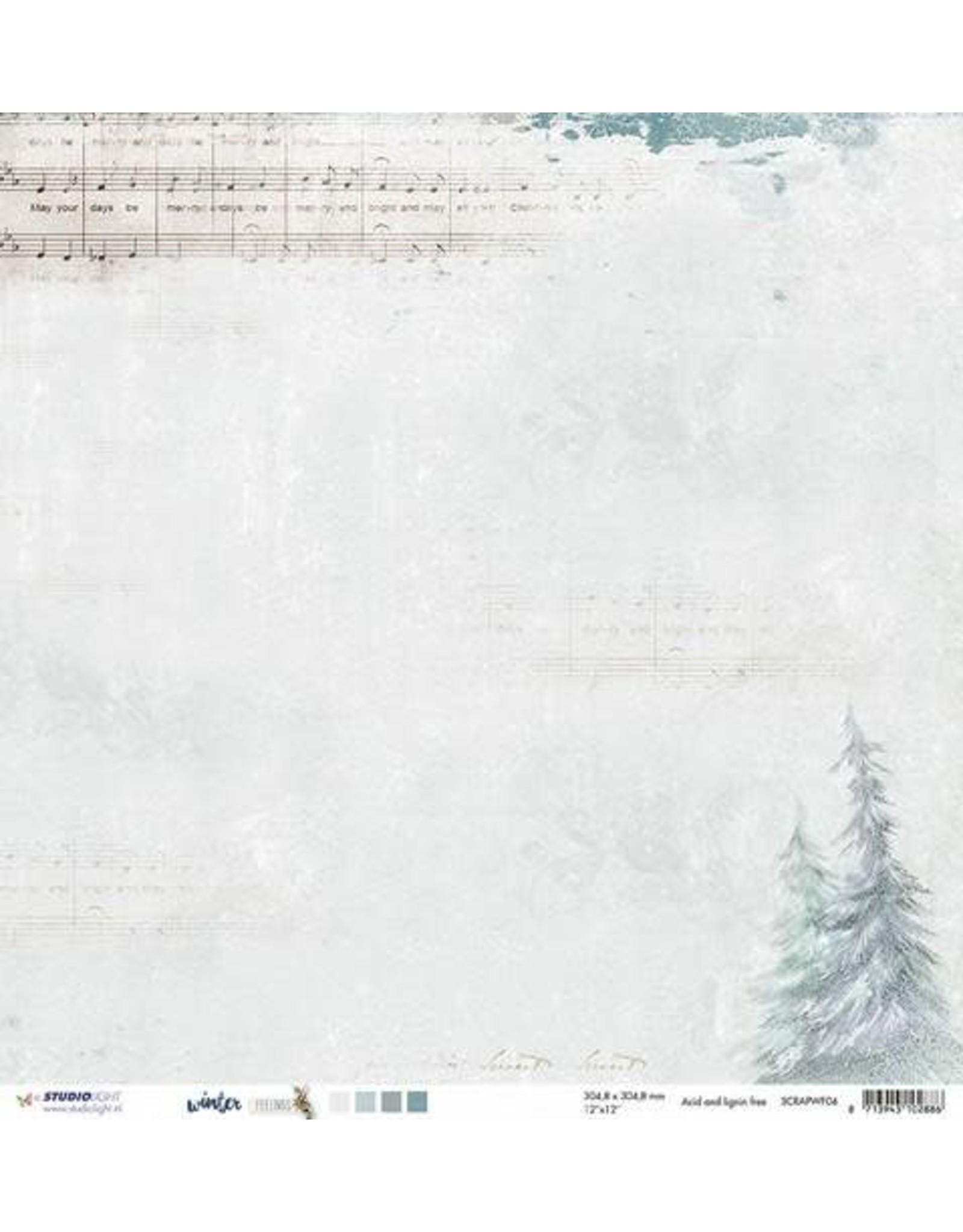 Scrappapier 10 Scrappapier 30.5x30.5 Winter Feelings 04 per vel