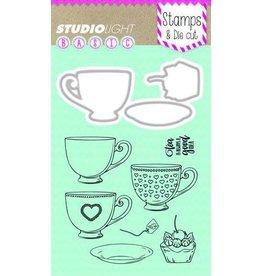 Studio Light Stamp &  Die Studio Light Stamp & Die Cut A6 Basics nr 11