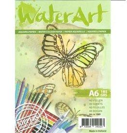 water art Water art  Papier 40 sheets / A6 / 185 grs