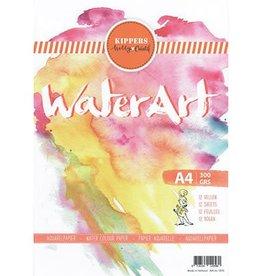 Water art  A4/300grs Aquarel Papier 12 sheets