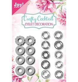Joy Craft Joy Crafts snijmal + stempel Eyelet decoratie 6004/0022