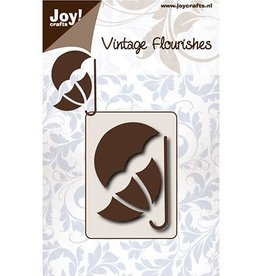 Joy Craft Joy Crafts snijmal Vintage Flourishes Paraplu 003/0084