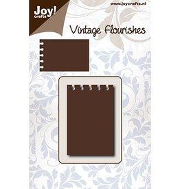 Joy Craft Joy Crafts snijmal Vintage Flourishes - Notities 6003/0082