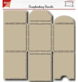 Joy Craft Joy Crafts scrapbookingstencil 	Mini Album 6002/0827