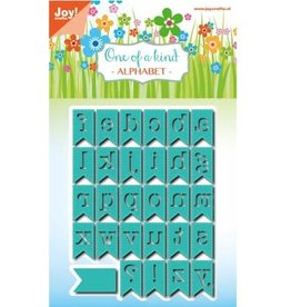 Joy Craft Joy Crafts snijmal One of a kind Alphabet 6002/0799