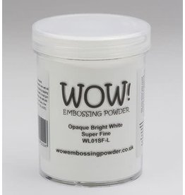 WOW Opaque Bright White super fine Large jar